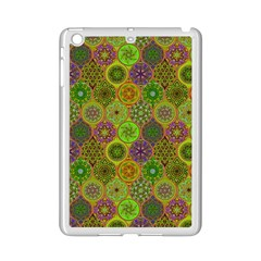 Bohemian Hand Drawing Patterns Green 01 Ipad Mini 2 Enamel Coated Cases by Cveti