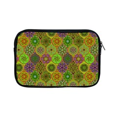 Bohemian Hand Drawing Patterns Green 01 Apple Ipad Mini Zipper Cases by Cveti