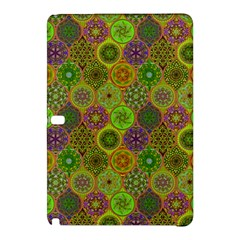 Bohemian Hand Drawing Patterns Green 01 Samsung Galaxy Tab Pro 10 1 Hardshell Case by Cveti