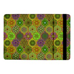 Bohemian Hand Drawing Patterns Green 01 Samsung Galaxy Tab Pro 10 1  Flip Case by Cveti