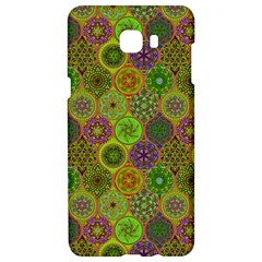 Bohemian Hand Drawing Patterns Green 01 Samsung C9 Pro Hardshell Case  by Cveti