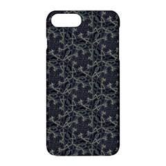 Whirligig Pattern Hand Drawing Grey Apple Iphone 8 Plus Hardshell Case by Cveti