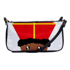 Cutieful Kids Art Funny Zwarte Piet Friend Of St  Nicholas Wearing His Miter Shoulder Clutch Bags by yoursparklingshop