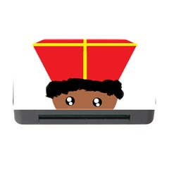 Cutieful Kids Art Funny Zwarte Piet Friend Of St  Nicholas Wearing His Miter Memory Card Reader With Cf by yoursparklingshop