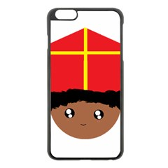 Cutieful Kids Art Funny Zwarte Piet Friend Of St  Nicholas Wearing His Miter Apple Iphone 6 Plus/6s Plus Black Enamel Case by yoursparklingshop