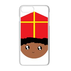 Cutieful Kids Art Funny Zwarte Piet Friend Of St  Nicholas Wearing His Miter Apple Iphone 7 Plus Seamless Case (white) by yoursparklingshop