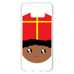 Cutieful Kids Art Funny Zwarte Piet Friend Of St  Nicholas Wearing His Miter Samsung Galaxy S8 Plus White Seamless Case by yoursparklingshop