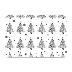 Christmas Tree   Pattern Plate Mats by Valentinaart