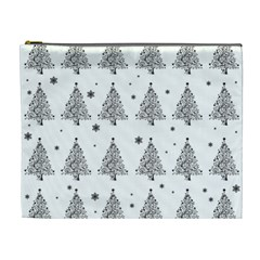 Christmas Tree   Pattern Cosmetic Bag (xl) by Valentinaart