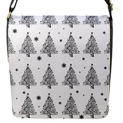 Christmas Tree   Pattern Flap Messenger Bag (s) by Valentinaart