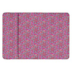 Whirligig Pattern Hand Drawing Pink 01 Samsung Galaxy Tab 8 9  P7300 Flip Case by Cveti