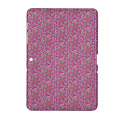 Whirligig Pattern Hand Drawing Pink 01 Samsung Galaxy Tab 2 (10 1 ) P5100 Hardshell Case  by Cveti