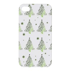 Christmas Tree   Pattern Apple Iphone 4/4s Premium Hardshell Case by Valentinaart