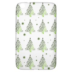 Christmas Tree   Pattern Samsung Galaxy Tab 3 (8 ) T3100 Hardshell Case  by Valentinaart