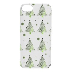 Christmas Tree   Pattern Apple Iphone 5s/ Se Hardshell Case by Valentinaart