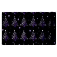Christmas Tree   Pattern Apple Ipad Pro 9 7   Flip Case by Valentinaart