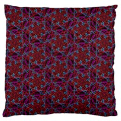 Whirligig Pattern Hand Drawing Red Standard Flano Cushion Case (two Sides) by Cveti