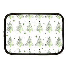 Christmas Tree   Pattern Netbook Case (medium)  by Valentinaart