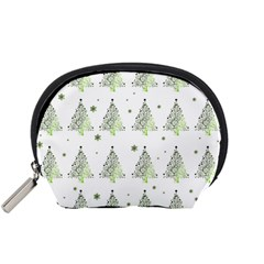 Christmas Tree   Pattern Accessory Pouches (small)