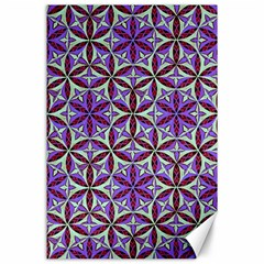 Flower Of Life Hand Drawing Pattern Canvas 24  X 36  by Cveti