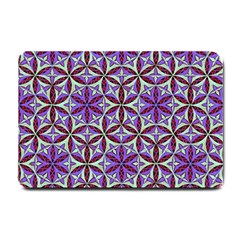 Flower Of Life Hand Drawing Pattern Small Doormat  by Cveti