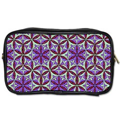 Flower Of Life Hand Drawing Pattern Toiletries Bags by Cveti
