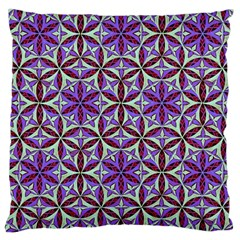 Flower Of Life Hand Drawing Pattern Large Cushion Case (two Sides) by Cveti