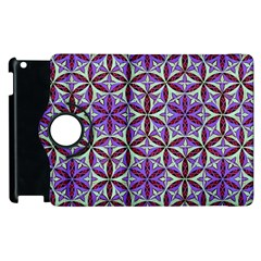 Flower Of Life Hand Drawing Pattern Apple Ipad 3/4 Flip 360 Case by Cveti