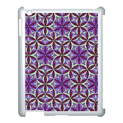 Flower Of Life Hand Drawing Pattern Apple Ipad 3/4 Case (white) by Cveti