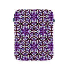 Flower Of Life Hand Drawing Pattern Apple Ipad 2/3/4 Protective Soft Cases by Cveti
