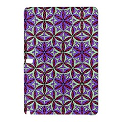 Flower Of Life Hand Drawing Pattern Samsung Galaxy Tab Pro 10 1 Hardshell Case by Cveti