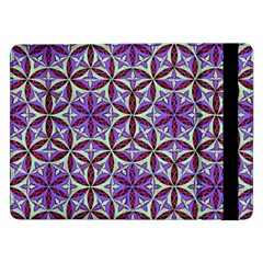 Flower Of Life Hand Drawing Pattern Samsung Galaxy Tab Pro 12 2  Flip Case by Cveti