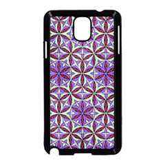 Flower Of Life Hand Drawing Pattern Samsung Galaxy Note 3 Neo Hardshell Case (black) by Cveti