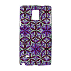 Flower Of Life Hand Drawing Pattern Samsung Galaxy Note 4 Hardshell Case by Cveti