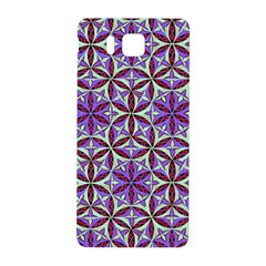 Flower Of Life Hand Drawing Pattern Samsung Galaxy Alpha Hardshell Back Case by Cveti