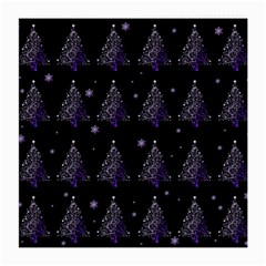 Christmas Tree   Pattern Medium Glasses Cloth (2 Side) by Valentinaart