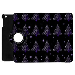 Christmas Tree   Pattern Apple Ipad Mini Flip 360 Case by Valentinaart