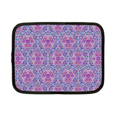 Star Tetrahedron Hand Drawing Pattern Purple Netbook Case (small)  by Cveti