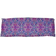 Star Tetrahedron Hand Drawing Pattern Purple Body Pillow Case Dakimakura (two Sides) by Cveti