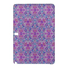 Star Tetrahedron Hand Drawing Pattern Purple Samsung Galaxy Tab Pro 10 1 Hardshell Case by Cveti