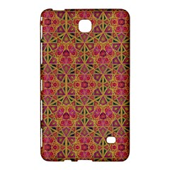 Star Tetrahedron Pattern Red Samsung Galaxy Tab 4 (7 ) Hardshell Case  by Cveti