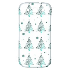Christmas Tree   Pattern Samsung Galaxy S3 S Iii Classic Hardshell Back Case by Valentinaart