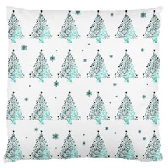 Christmas Tree   Pattern Standard Flano Cushion Case (one Side) by Valentinaart