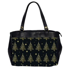 Christmas Tree   Pattern Office Handbags (2 Sides)  by Valentinaart
