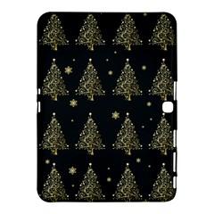 Christmas Tree   Pattern Samsung Galaxy Tab 4 (10 1 ) Hardshell Case  by Valentinaart