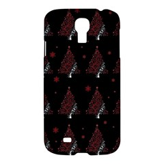 Christmas Tree   Pattern Samsung Galaxy S4 I9500/i9505 Hardshell Case by Valentinaart