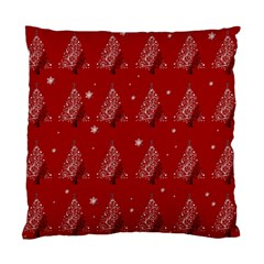 Christmas Tree   Pattern Standard Cushion Case (two Sides) by Valentinaart
