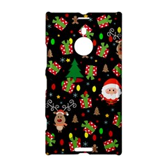 Santa And Rudolph Pattern Nokia Lumia 1520 by Valentinaart