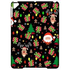 Santa And Rudolph Pattern Apple Ipad Pro 9 7   Hardshell Case by Valentinaart