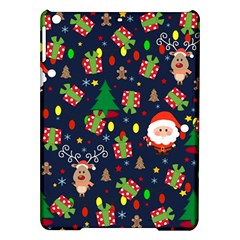 Santa And Rudolph Pattern Ipad Air Hardshell Cases by Valentinaart